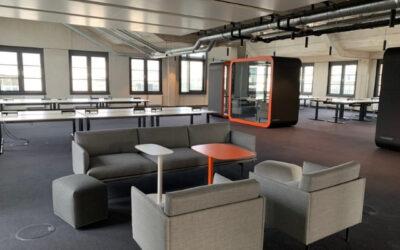 Neues Büro, neue Creative Solution Abteilung
