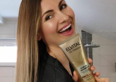Nano Influencers for L'Oréal Elvital Kur-In-Shampoo
